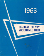 1963 Halifax County Vocational High School