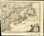A MAP of the BRITISH & FRENCH PLANTATIONS in NORTH AMERICA