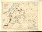 SKETCH OF THE NORTH EASTERN BOUNDARY Between GREAT BRITAIN AND THE UNITED STATES as Settled by Treaty Aug't 9th, 1842