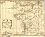 A complete CHART of the COAST of FRANCE, from Ostend, to Cape Finisterra, including the opposite Coast, of the BRITISH CHANNEL