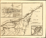 A Particular MAP, to Illustrate Gen. Amherst's Expedition to MONTREAL; with a Plan of the Town & Draught of the Island