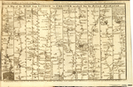 A Map of the ROAD from LONDON to CHESTER measur'd from the ROYAL EXCHANGE