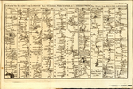 A Map of the ROADS from LONDON thro OXFORD, WORCESTER, &c. to ABERISTWITH [on plate with] The ROAD from BRISTOL to EXETER