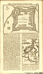 Plan of Fort Frederick at Crown Point