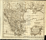 A New and ACCURATE MAP of TURKEY IN EUROPE Drawn from the BEST AUTHORITIES and Engrav'd for the Supplement to the Gent. Mag 1770