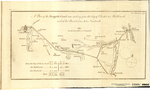 A Plan of the Navigable Canal now making from the City of Chester to Middlewich, and of the Branch from A to Naintwich