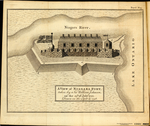 A VIEW of NIAGARA FORT, taken by Sir William Johnson, on the 25th of July 1759, Drawn on the Spot in 1758