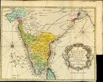 A New and accurate MAP of CORMANDEL, MALABAR, BENGAL &c. exhibiting the Principal European Settlements in the EAST INDIES