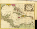 A New & accurate MAP of the WEST INDIES and the adjacent Parts of North & South AMERICA