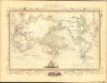 WORLD ON MERCATOR'S PROJECTION SHEWING THE VOYAGES OF CAPTAIN COOK ROUND THE WORLD