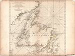 A GENERAL CHART OF THE ISLAND OF NEWFOUNDLAND with the Rocks & Soundings, Drawn from SURVEYS taken by ORDER of the  RIGHT HONOURABLE the LORDS COMMISSIONERS of the ADMIRALTY