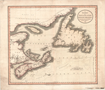 A NEW MAP OF NOVA SCOTIA, NEWFOUNDLAND &c. FROM THE LATEST AUTHORITIES