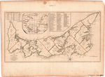 A MAP of the Island of ST. JOHN In the GULF of ST. LAURENCE Divided Into Counties & Parishes And the LOTS , as granted by Government, to which are added The Soundings round the Coast & Harbours, Improv'd from the late Survey of Captain Holland
