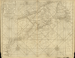 A CHART of the SEA COAST of NEW FOUNDLAND, NEW SCOTLAND, NEW ENGLAND, NEW YORK, NEW JERSEY with VIRGINIA and MARYLAND
