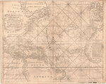 A New Generall CHART for the WEST INDIES of E. Wright's Projection vut. Mercators Chart