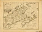 A NEW MAP of NOVA SCOTIA, and CAPE BRETON ISLAND with the adjacent parts of NEW ENGLAND and CANADA, Composed from a great number of actual Surveys; and other materials REGULATED by many new Astronomical Observations of the Longitude as well as Latitude