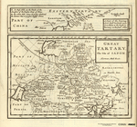 GREAT TARTARY, The Isle of Iapon [on plate with] A Tract of the Journey which Fath'r Verbiest made from Pekin to the Eastern Tartary in the Year 1682