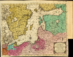 A New and Compleat MAP of the PARTS of SWEDEN, RUSSIA, GERMANY, POLAND, and DENMARK; bordering on the BALTICK SEA: Exhibiting the Present Seat of War between those several Powers