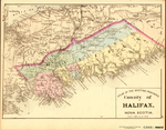 ATLAS OF THE MARITIME PROVINCES: County of HALIFAX, NOVA SCOTIA