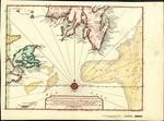 CARTE de la partie Méridionale de L'ISLE DE TERRE NEUVE AVEC L'ISLE ROYALE nommée cy-devant Bacallao, Gaspée, ou du Cap Breton, Et l'Isle de Sable, Tirées de l'Amérique en 20 flles. de Mr. Popple