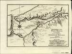GRUNDRISS VON PORT ROYAL in Accadia von den Engloendern ANNAPOLIS ROYAL gennant. Durch B.N. Ing de la M. 1744