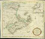 New and accurate MAP of the PROVINCE of NOVA SCOTIA, in NORTH AMERICA; from the latest Observations