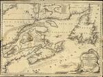 A New Chart of the Coast of NEW ENGLAND, NOVA SCOTIA, NEW FRANCE or CANADA, with the Islands of NEWFOUNDL'D, CAPE BRETON, ST. JOHN's &c.