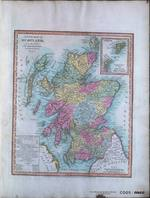 A NEW MAP OF SCOTLAND, from the latest AUTHORITIES