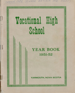 1952 Yarmouth County Vocational High School