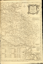 A Map of BOHEMIA, MORAVIA, SILESIA, LUSSATIA, with great part of SAXONY & BRANDENBURG, Shewing the Present seat of War, in GERMANY