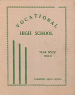 1951 Yarmouth County Vocational High School