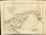 A CHART OF DELAWARE BAY AND RIVER, from the Original BY MR. FISHER OF PHILADELPHIA, 1776