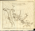 A MAP shewing the communication of the Lakes and the Rivers between Lake Superior and Slave Lake in North America