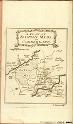A PLAN OF SOLWAY MOSS, in CUMBERLAND