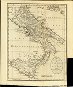 The Kingdom of Naples and Sicily Drawn from the Most Apprived Foreign Maps and Charts