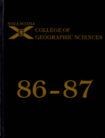1987 College of Geographic Sciences