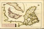 Grund Riss de Americanischen insuln Cape Breton, St. Jean und Anticosti im Flusse S. Laurencii