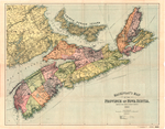 MACKINLAY'S MAP OF THE PROVINCE OF NOVA SCOTIA COMPILED FROM ACTUAL & RECENT SURVEYS