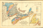 GEOLOGICAL MAP OF THE MARTIME PROVINCES OF THE DOMINION OF CANADA