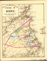 ATLAS OF THE MARITIME PROVINCES: County of KENT, NEW BRUNSWICK