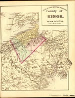 ATLAS OF THE MARITIME PROVINCES: County of KINGS, NOVA SCOTIA