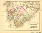 ATLAS OF THE MARITIME PROVINCES: Counties of YARMOUTH AND SHELBURNE, NOVA SCOTIA