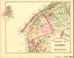 ATLAS OF THE MARITIME PROVINCES: County of DIGBY, NOVA SCOTIA