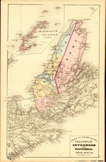ATLAS OF THE MARITIME PROVINCES: Counties of INVERNESS AND VICTORIA,  NOVA SCOTIA