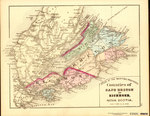 ATLAS OF THE MARITIME PROVINCES: Counties of CAPE BRETON AND RICHMOND,  NOVA SCOTIA