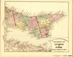 ATLAS OF THE MARITIME PROVINCES: Counties of QUEENS & KINGS, PRINCE EDWARD ISLAND