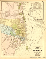 MAP OF THE CITY OF HALIFAX HALIFAX Co. N.S.