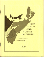 1977 Nova Scotia Land Survey Institute