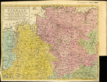 A New & Accurate MAP of Ye North West part of GERMANY containing the CIRCLES of LOWER SAXONY and WESTPHALIA