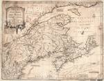 A NEW MAP of NOVA SCOTIA, and CAPE BRITAIN with the adjacent parts of NEW ENGLAND and CANADA...